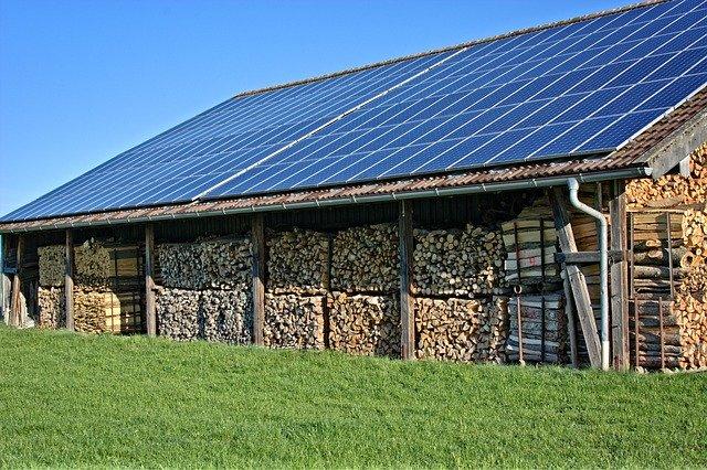 Panneaux solaire sur toit